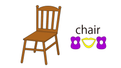 chair-word