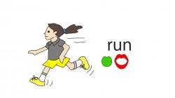 run-word